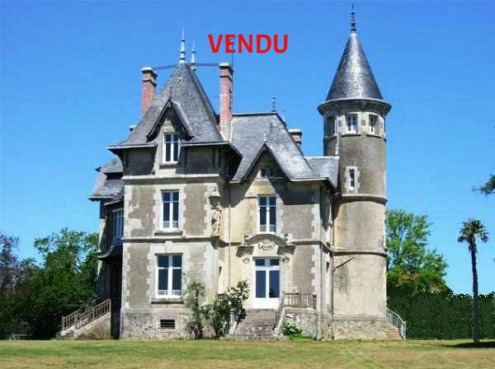 French Castle Manor properties for sale France Pays Loire Atlantic Vendee ocean Home houses farm pool tennis golf real estate agency west coast france for sale property land area nantes la baule