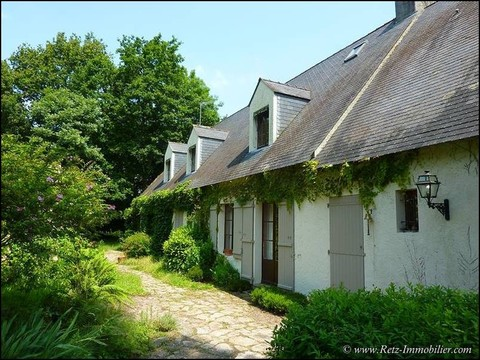 A vendre St Andre des eaux La Baule Guerande parc briere maison longere propriete belle demeure caractere gite chambre hote b&b vente france property houses homes manor farm for sale business gite 44