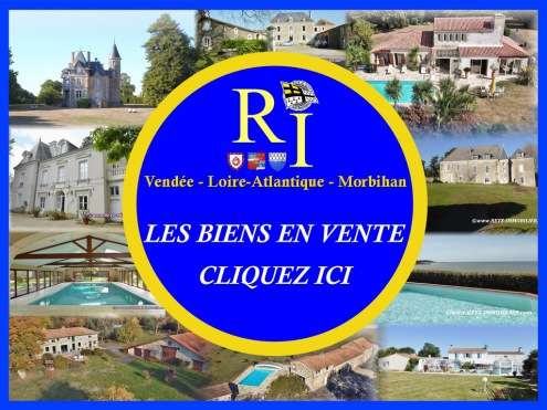 Catalogue selection maison propriete a vendre villa manoir chateau villa equestre hectare vendee loire atlantique morbihan