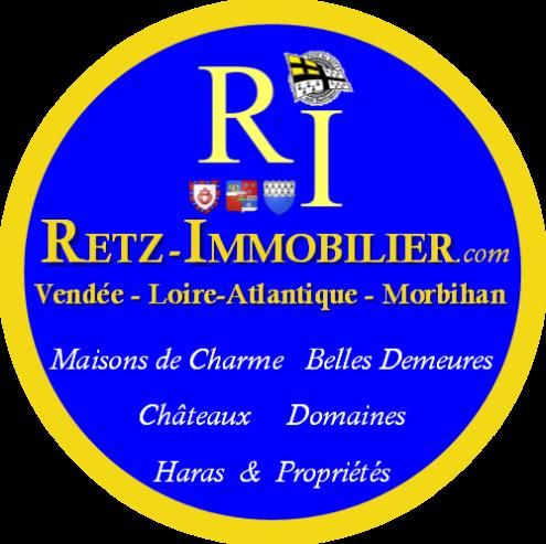 Retz Immobilier loire atlantique 44 vendee 85 morbihan 56 maisons de charme belles demeures chateaux a vendre domaines haras proprietes vente achat